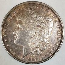 1885 Morgan Dollar; AU; Nice Original Tone - $47.51