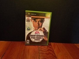 Tiger Woods PGA Tour 2005 Xbox EA Sports Game and Case Golf Ball Club TW - $3.82