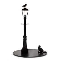 Paper Towel Holder Cat Crow Home Kitchen Storage Designer Funky Gifts Me... - £43.59 GBP