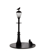 Paper Towel Holder Cat Crow Home Kitchen Storage Designer Funky Gifts Me... - £42.78 GBP