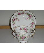 "Vintage Aynsley English Bone China Cup & Saucer - Discontinued ""Grotto R... - $20.00"