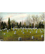 Arlington National Cemetary Vintage Post Card - $7.00