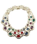 Napier Byzantium Runway Couture Collar Necklace... - $325.00