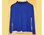 Basic editions drk navy turtle neck shirt sz l thumb155 crop