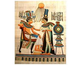 Egyptian pharoah sitting queen   aten   smaller thumb200