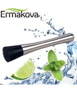 Ermakova® 8 Inch Cocktail Muddler Stainless Steel Drink Fruit Mojito Bar... - $6.70
