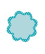 Blue Dots Flower Tag Sheet-Digital Download-Cli... - $4.00