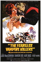 The Fearless Vampire Killers Poster 27x40 In Sharon Tate In Tub 69x101 Cm - $34.99