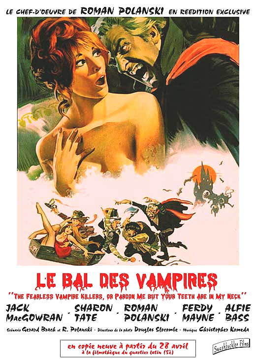 Fearless vampire killers poster 11x17 french