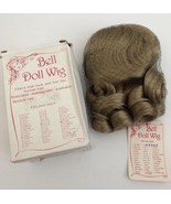 NEW BELL Doll Wig Amber sz 13-14 Blonde Washable manageable Stretch Cap - $19.79