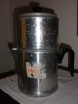 Aluminum vintage coffee pot - $17.45
