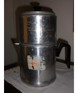 Aluminum vintage coffee pot - $28.45