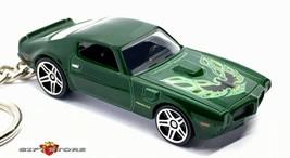 RARE!! KEY CHAIN GREEN 1970/1971/1972/1973 PONTIAC FIREBIRD TRANS AM LTD... - $34.98