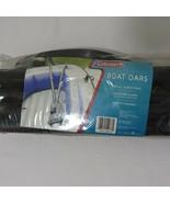 "New Coleman 45"" Plastic Boat Oars Set Black Plastic - $29.66"