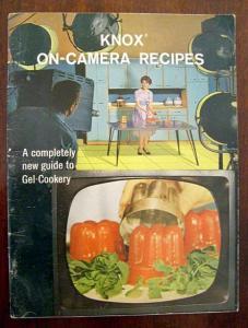 Vintage Knox On Camera Recipes Book Knox Gelatin 1962