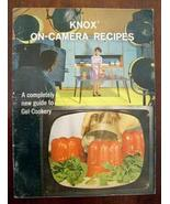 Vintage Knox On Camera Recipes Book Knox Gelatin 1962  - $8.99