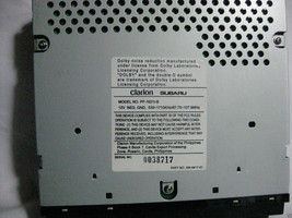 Subaru Legacy 2000 2001 Cassette player radio C117 Brighton & L models 57637g image 4