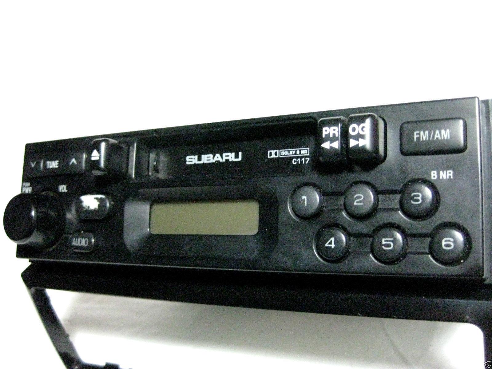 Subaru Legacy 2000 2001 Cassette player radio C117 Brighton & L models 57637g image 2