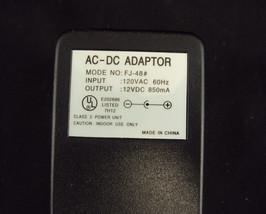 12V DC Power Supply ~ 850 mA ~ Model FJ-48# - $8.77