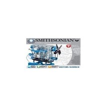 Smithsonian Motor Works Car Model Engine Toy Kit Assemble Build Hobby 4 ... - $45.59