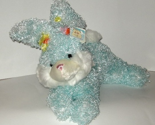1/2 Price! Blue Bunny Rabbit Soft Kuddle Me Plush New With Tag