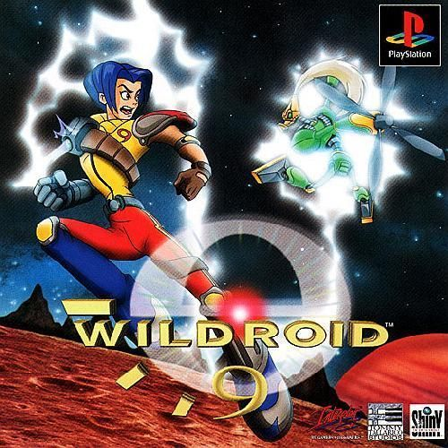 Wildroid 9 (Wild 9), Sony Playstation One PS1, Import Japan Game