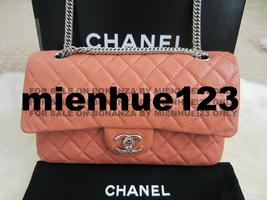 Chanel 08p Glazed Lambskin Medium Classic Flap Silver Bijoux Chain - $4,099.00