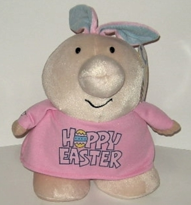 50% off! Ziggy Happy Easter Plush Stuffed Collectible Doll Rabbit Ears NWT