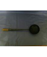 Vintage Metal Ladle with Wood Tip Rusty - $9.99