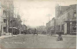 Main Street Wyalusing Pennsylvania 1912 Vintage Post Card - $7.00