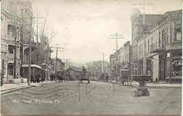 Main Street Wyalusing Pennsylvania 1912 Vintage Post Card - $7.00