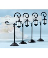 96 Bourbon Street Streetlight Wedding Place Card Holder Favors New Orlea... - $128.38