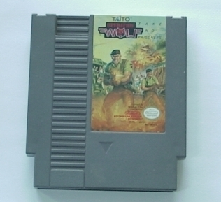 Nintendo NES Operation Wolf