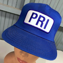 Vintage PRI Electric Made In USA Big Patch Todd Snapback Baseball Hat Cap  - $29.95