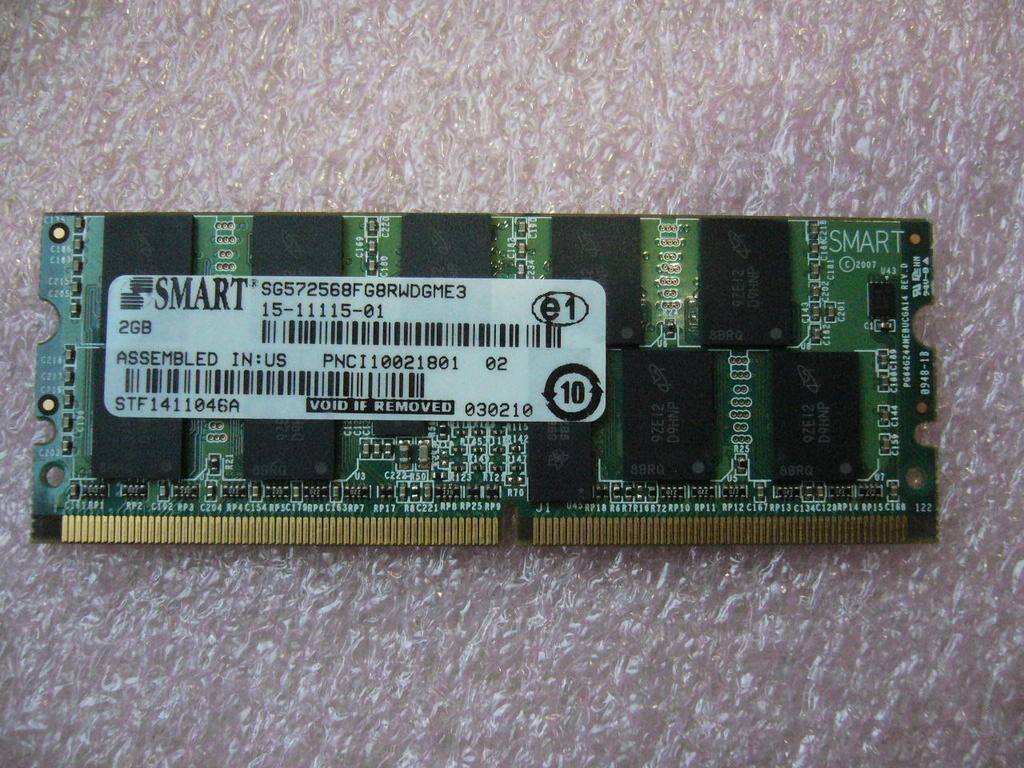 QTY 1x Cisco 15-11115-01 Router Memory 2GB DDR2 PC2-4200 244pin Mini DIMM TESTED - $78.20