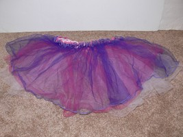 Girls Tutu Skirt Danskin Now Dance Multi-Colored XXS (4-5) Pink Purple White jw - $5.99