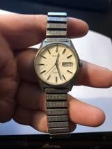 VINTAGE BULOVA 1960s AUTOMATIC STAINLESS STEEL WATERPROOF MEN'S WATCH W/... - $121.77