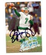 Bobby Hoying autographed Football Card (Philadelphia Eagles) 1998 Fleer Ultra #9 - $14.00