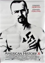 """1998 AMERICAN HISTORY X Movie POSTER 27x40"""" Motion Picture Promo Edward ... - $18.99"""