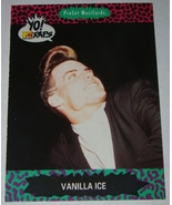 Trading Cards - 1991 ProSet MusiCards - YO! MTV RAPS - VANILLA ICE (Card... - $5.25