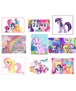 9 My Little Pony Stickers, Party Supplies, Decorations, Favors, Gifts, B... - $8.99