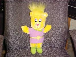 "16"" Disney Sunni Gummi Bear Plush Toy By Fisher Price 1985 Super Nice - $93.14"