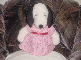 "16"" Vintage Peanuts BELLE Snoopy Girlfriend Plush Toy Rare - $69.76"