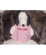 "16"" Vintage Peanuts BELLE Snoopy Girlfriend Plush Toy Rare - $69.76"