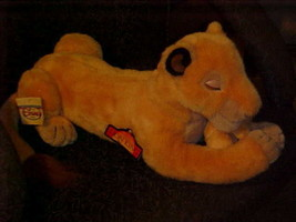 "21"" Sarabi With Puppet Simba Cub Plush Toy From The Lion King With Tags ... - $139.89"