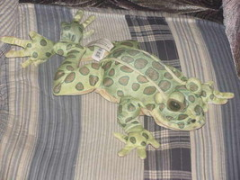 "14"" Leopard FROG Plush Puppet Toy Folktails Folkmanis - $23.01"