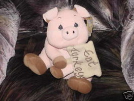 "12"" Precious Moments Pig Plush Toy ""Precious"" M/W/Tags - $46.39"