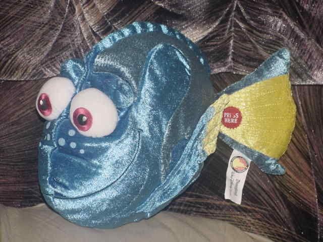 12 talking dory fish plush toy disney finding nemo for Talking fish toy