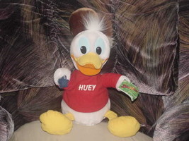 """13"""" Wilderness Huey Plush Toy W/tags From Disney Duck Tales Applause - $55.74"""