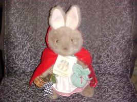 "15"" Eden Beatrix Potter Mrs. Rabbit Christmas Party Plush W/Tags Federic... - $93.14"